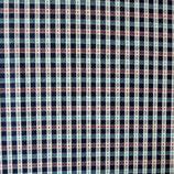 Stoff Baumwolle Schürzenstoff gewoben kleingemustert VINTAGE 1.30 m