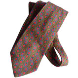 Krawatte VINTAGE Christian Dior 70s Seide