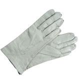 Handschuhe Leder hell eierschale gefüttert VINTAGE 80s M