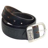 Herrengürtel Leder belt LEVI'S 501 black 75-90cm
