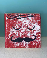 Red Coaster Moustache