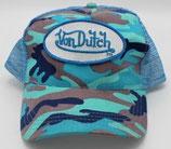 Von Dutch Truckercap Kamoflasch/Hellblau