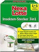 Nexa Lotte Insektenstecker 3 in 1