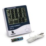 Caluma Temperatur und Feutigkeitsmessgerät HTC2