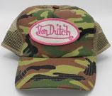 Von Dutch Truckercap Kamoflasch