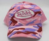 Von Dutch Truckercap Kamo/Rosa
