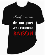 T shirt femme citation