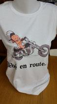 """Tee-shirt femme imprimé """"bébé en route"""""""