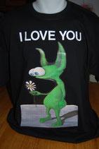 Tee-shirt homme déclaration d'amour