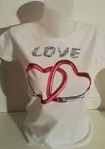 "Tee- shirt femme imprimé ""love"""