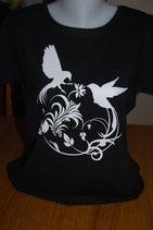 "Tee-shirt femme imprimé ""oiseaux"""
