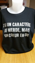 Tee-shirt femme humoristique imprimé