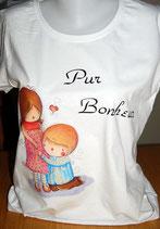 """Tee-shirt femme imprimé """"Pur Bonheur"""""""