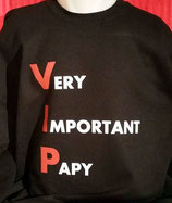 "Sweat imprimé ""Very Important Papy"
