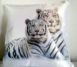 "COUSSIN SATINE ""TIGRES BLANCS"""