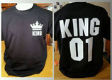 "Tee-shirt imprimé ""KING 01"""