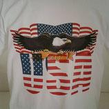 """Tee-shirt imprimé """"AIGLE USA"""""""