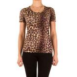 Tee shirt léopard femme