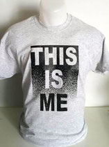 "Tee-shirt imprimé ""this is me"""
