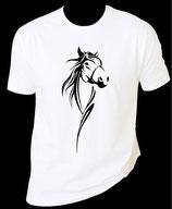 tee shirt cheval