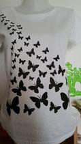 "Tee-shirt femme imprimé ""Papillons"""