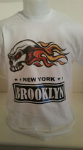 "Tee-shirt imprimé ""New York Brooklyn"""