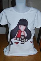 """Tee-shirt femme imprimé """"poupée"""""""