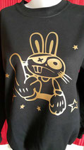 "SWEAT IMPRIME ""'LAPIN  SWAG"""