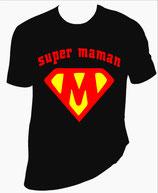 tee shirt femme, super maman
