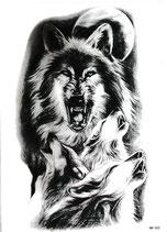 Wolf mit Jungen