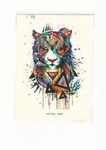Tiger farbig