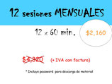 COMPRAR 12 SESIONES ONE-ON-ONE