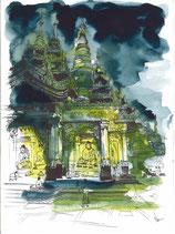 Pagode Shwedagon 02