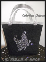 "CACHE-POT ""PAPILLON STRASS"""