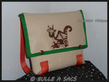 "SAC A DOS ""DRAGON MARRON"""