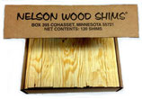 Nelson Wooden Shims (120 pcs)