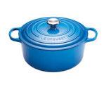 Gietijzeren pan 24 cm Marseille blue