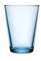 Lichtblauw 40 cl set van 2 glazen