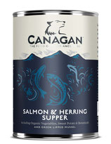 Salmon & Hering Supper (Lachs & Herring) 400g
