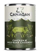 Chicken & Wild Boar Casserole (Englisches Freiland Huhn und Wildschwein) 400g