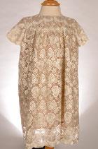 Empire Dress aus Baumwollspitze Gr. 110/116