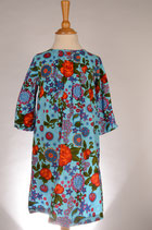 Flower Power Feincord Dress Gr. 116
