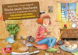 Nischa packt Geschenke- Adventskalender für das Kamishibai