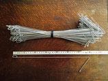 PIVOXE AV3500 Fangvorrichtung für bewegliche Heftdrähte im Weinbau, 35cm, Bund mit 100 St.