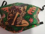 Maske Tschungel Lilli Tiki