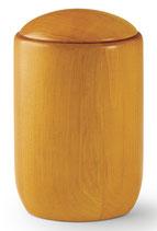 Handgedrechselte Urnen Kiefer oder Pinie Honigfarben