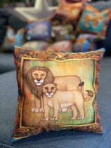 le coussin Lion