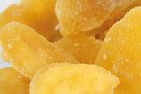 Apfelstücke leicht sauer