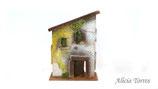 Casa con tejado inclinado (Ref. 1351)