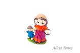 Mujer y niña, Puig (Ref. 27216)